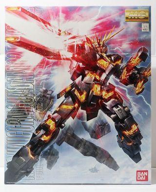 高達模型RX-0 unicorn Gundam 02 Banshee MG