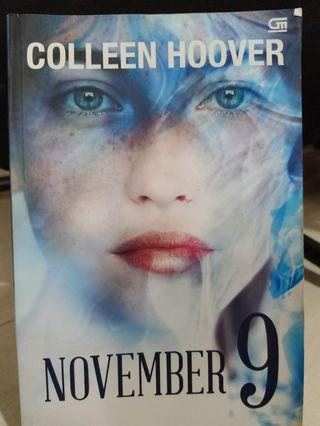 Novel November 9 - Colleen Hoover