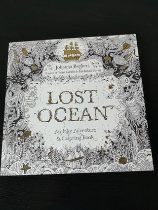 🚚 Lost ocean colour book