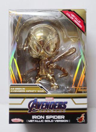 電鍍金Cosbaby Spiderman Iron Spider Avengers infinity war endgame會場限量版
