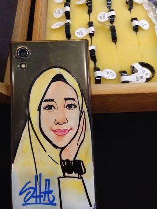 Custom handphone cover