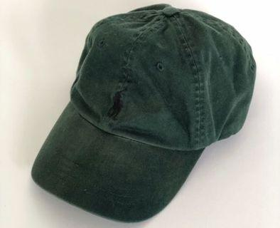 🚚 Forest Green Ralph Lauren Baseball Cap