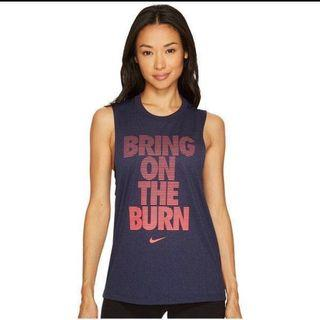💯Authentic Nike Women's Bring On The Burn Workout Tee