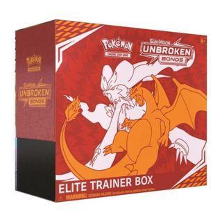 (Elite Trainer Box) Sun & Moon Unbroken Bond