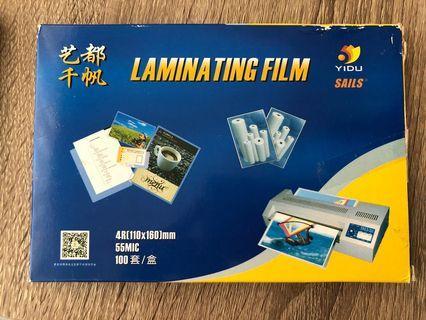4R 相片過膠片 過膠膜 100張 laminating film