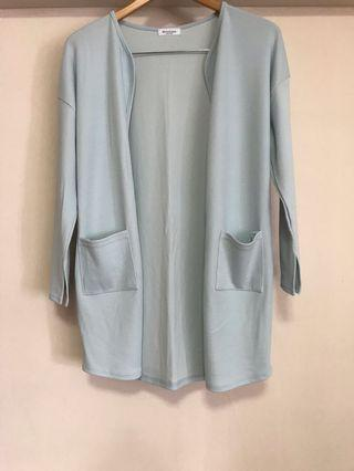 Brand New Monologue Baby Blue Outerwear ( Made in Korea)