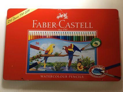 Faber-castell水性色鉛筆36色