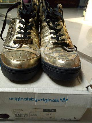 Adidas jeremy scoot ,wings gold