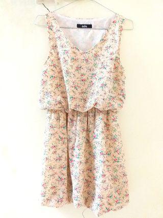 Floral Dress Cream