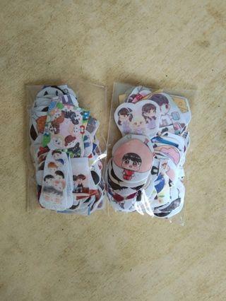 got7 chibi stickers !