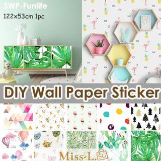 🏅🏅SWP-FUNLIFE NEW DIY WALL PAPER STICKER