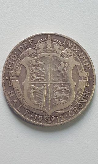 United Kingdom half crown 1913
