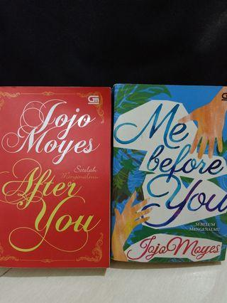 Novel Jojo Moyes Me Before You & After you