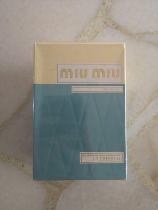 Miu Miu L'eau Bleue Perfume 30ml