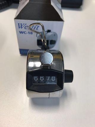 Wellit Hand Tally Counter 數人流器