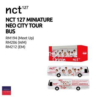 (PRE-ORDER) NCT127 MINIATURE NEO CITY BUS