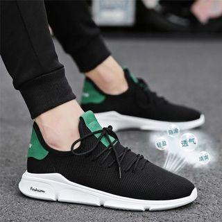 🚚 [breathable comfort] men's shoes summer breathable 2019 new tide sports net shoes Korean version of the mesh casual shoes shoes