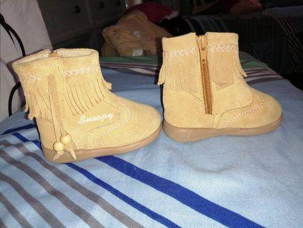 Brown Boots for Baby
