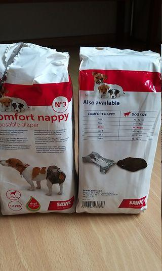 🚚 Savic dog diapers/pampers