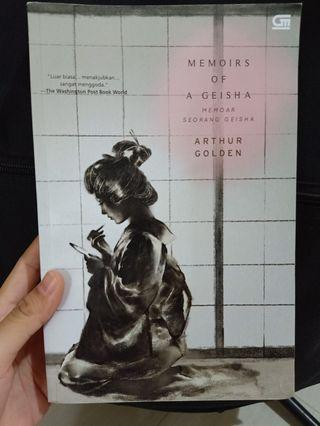 Novel Memoirs of a Geisha - Arthur Golden
