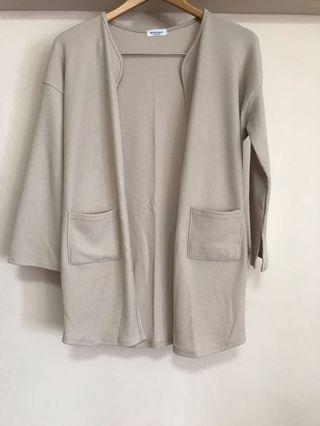 Brand New Monologue Beige Outerwear (Made in Korea)