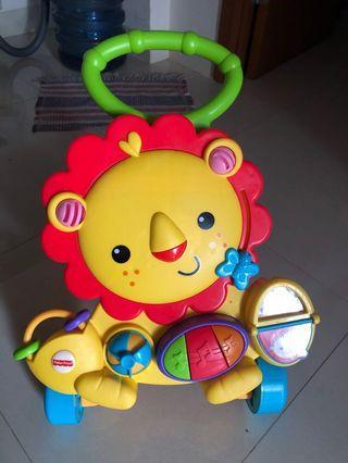 Fisher Price Lion Walker musical baby walker