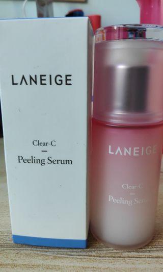 Clear c peeling serum