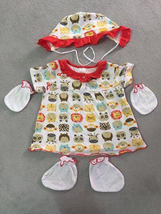 Pureen Set Baby Dress