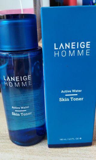 Active water skin toner