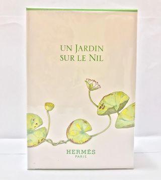全新Hermes 尼羅河花園淡香水 50ml 連身體乳 75ml  套裝
