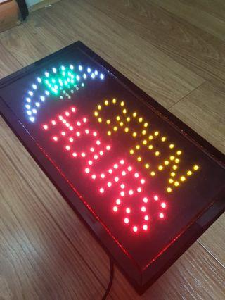 """LED """"OPEN HOURS"""" Signboard"""