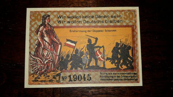 100 years 50 Pfennig #JuneToGo