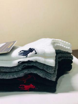 #fathersday35. RALPH LAUREN. SOCKS. Men. Low Cut. No Show Socks. Pac#k of 3. WHITE/GREY/BLACK. CLASSIC. COMFORT. RED/BLUE PONY. AUTHENTIC.
