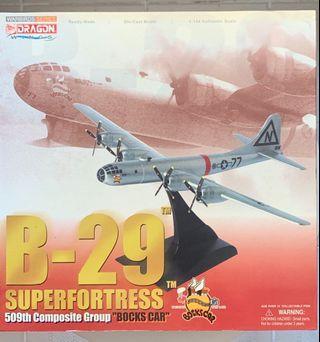 Dragon威龍 B29 superfortress 轟炸機 有盒齊件 全合金 淨機身約20cm長