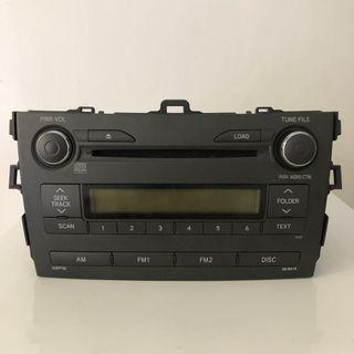 Toyota Altis 2008 Radio Head Unit