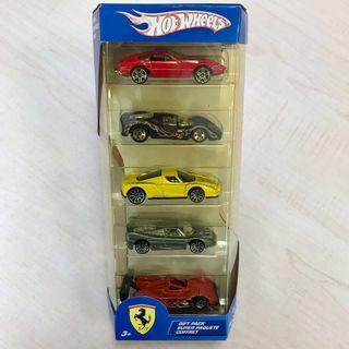 PRICE REDUCED! Hot Wheels Ferrari 5 Gift Pack (Set 4)
