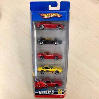 PRICE REDUCED! Hot Wheels Ferrari 5 Gift Pack (Set 3)