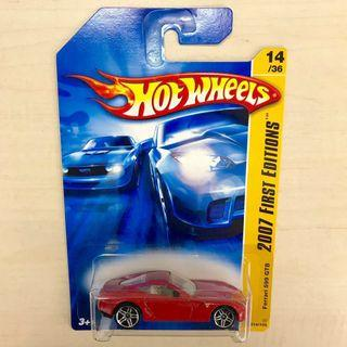 Last one! Hot Wheels Ferrari 599 GTB red First Editions