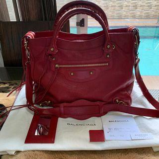 Authentic Balenciaga Velo Red