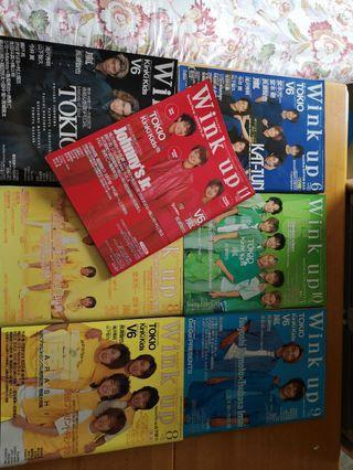 Wink Up舊雜誌