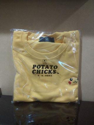 🚚 皮卡丘-電繡神奇寶貝圖案短袖上衣