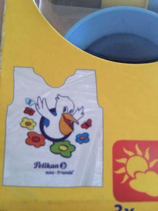 Pelikan Paint apron / bib for 3-5 years