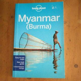 Myanmar Travel Guide Book Lonely Planet