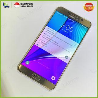 SAMSUNG Galaxy Note 5 64GB Gold [Preowned]