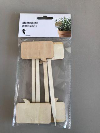 🚚 Plant labels