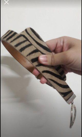 動物紋皮帶