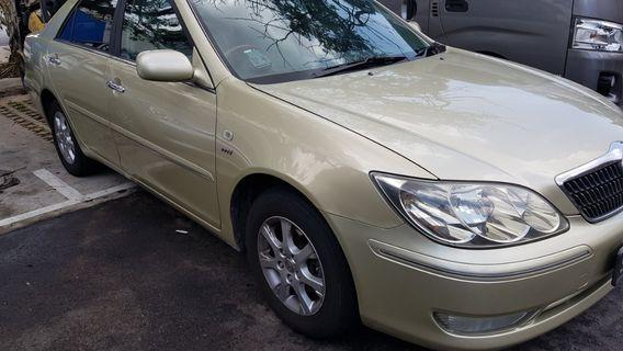 Toyota Camry 2.0 For RENT