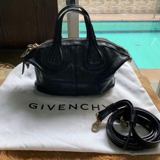 Authentic Givenchy Mini Nightingale Black