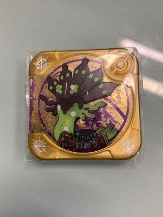 Pokemon Tretta Z1 Ultimate Zygarde 4/10 Condition Scannable at Z1