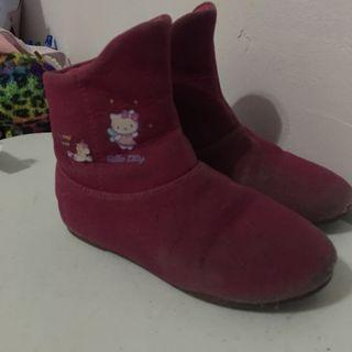 Hello Kitty Boots Authentic Sanrio